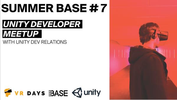 Summerbase #7 - Unity developer | Meetup