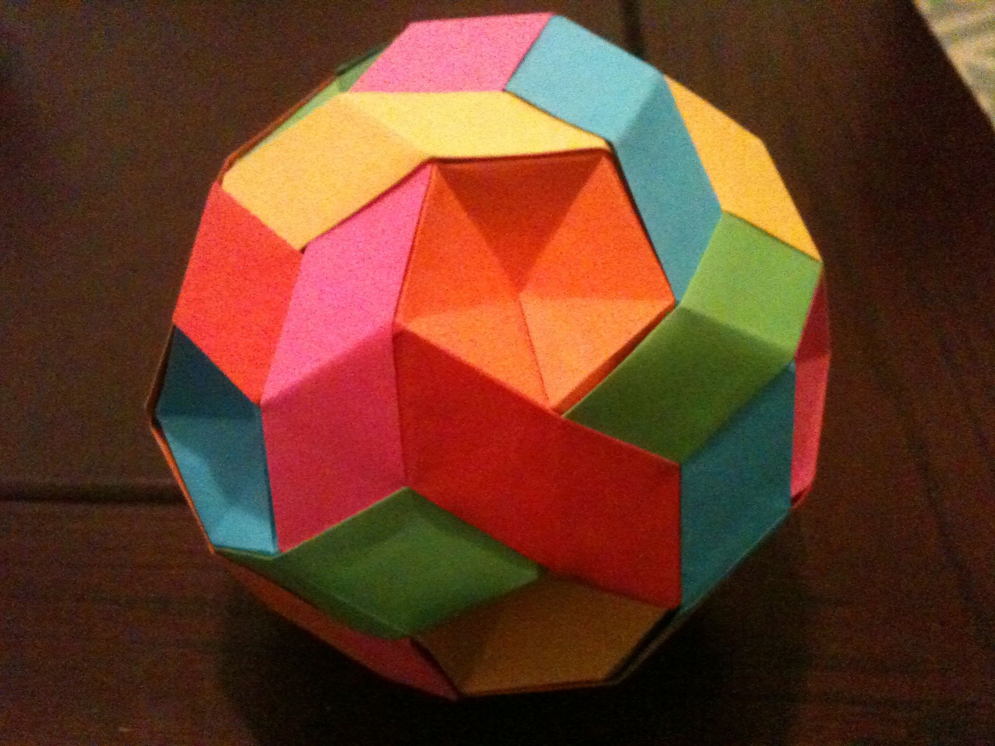 How to Make an Origami Diamond (with Pictures) - wikiHow | 1536x2048