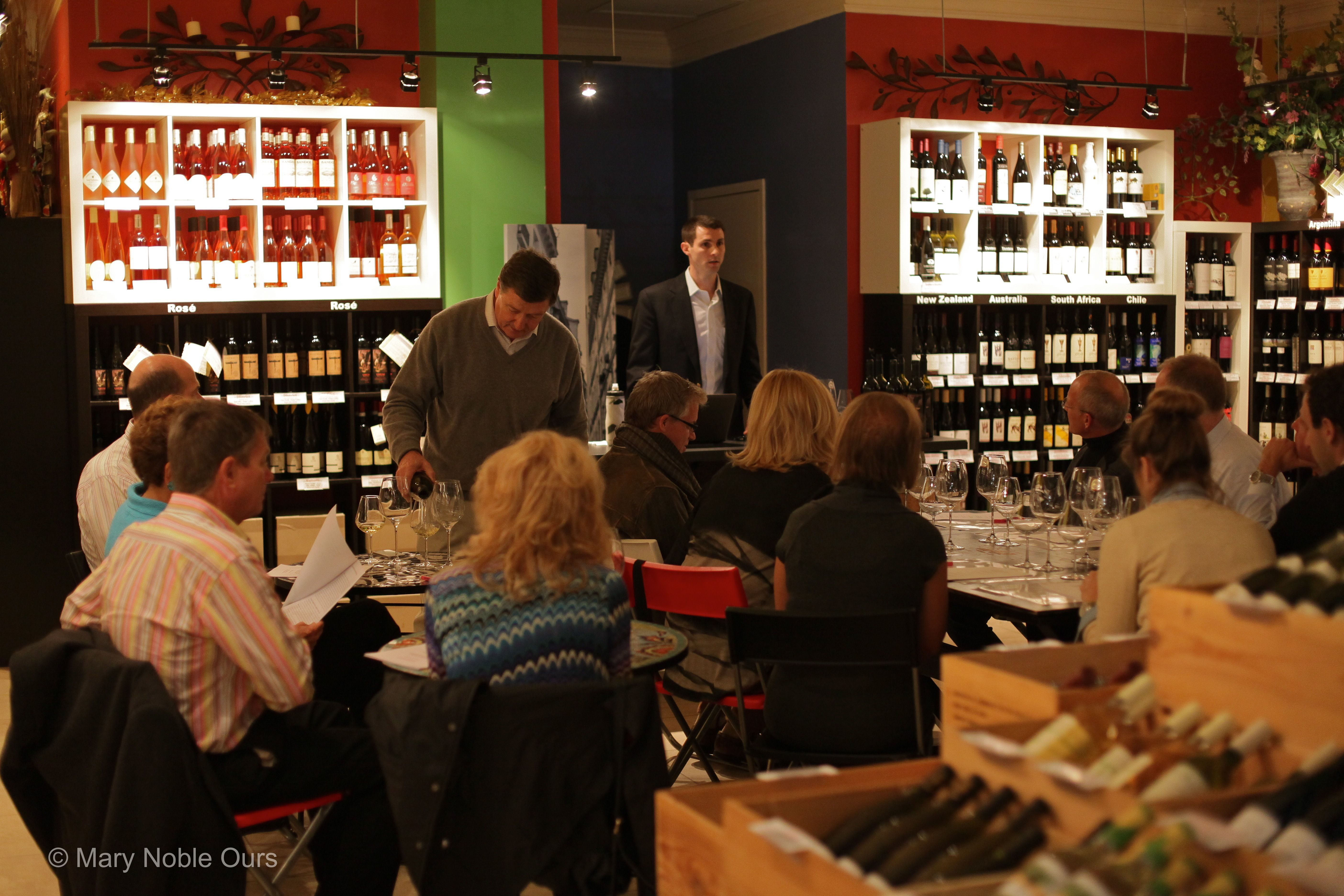 Cork and Fork DC Wine Tasters