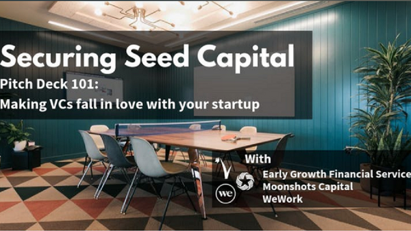 Securing Seed Capital (Pitch Deck 101:Making VCs fall in