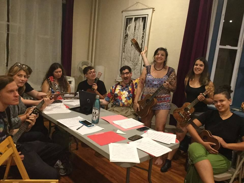 West Philly Uke Club Monthly Meeting