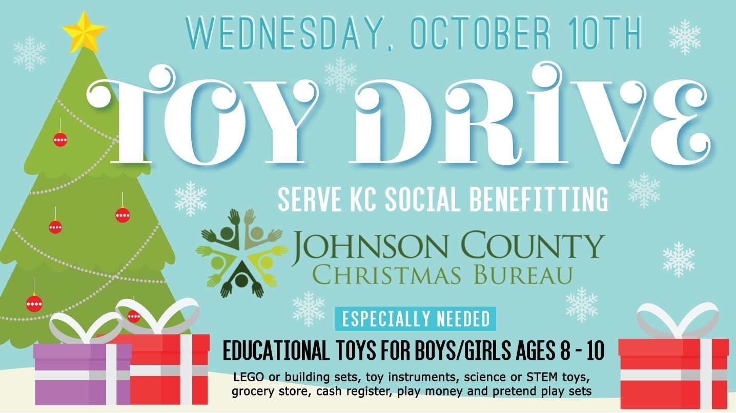 TOY Drive Wednesday Night // Birthday Save the Date - Serve KC ...