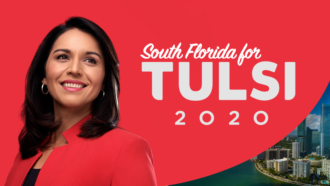 South Florida Tulsi Gabbard Supporters