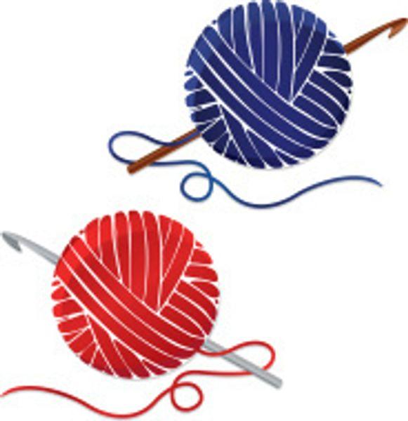 crochet yarn clipart - photo #14