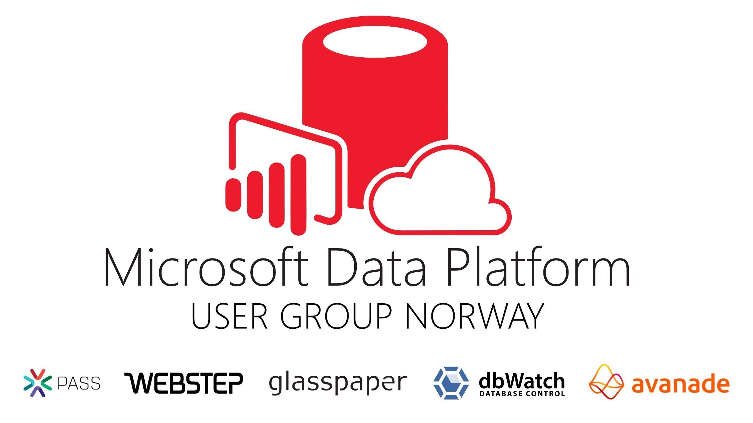 Microsoft Data Platform User Group Norway