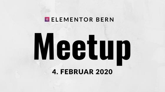 Elementor Meetup | Wann Inhalt im Elementor, wann im WordPress? - event image