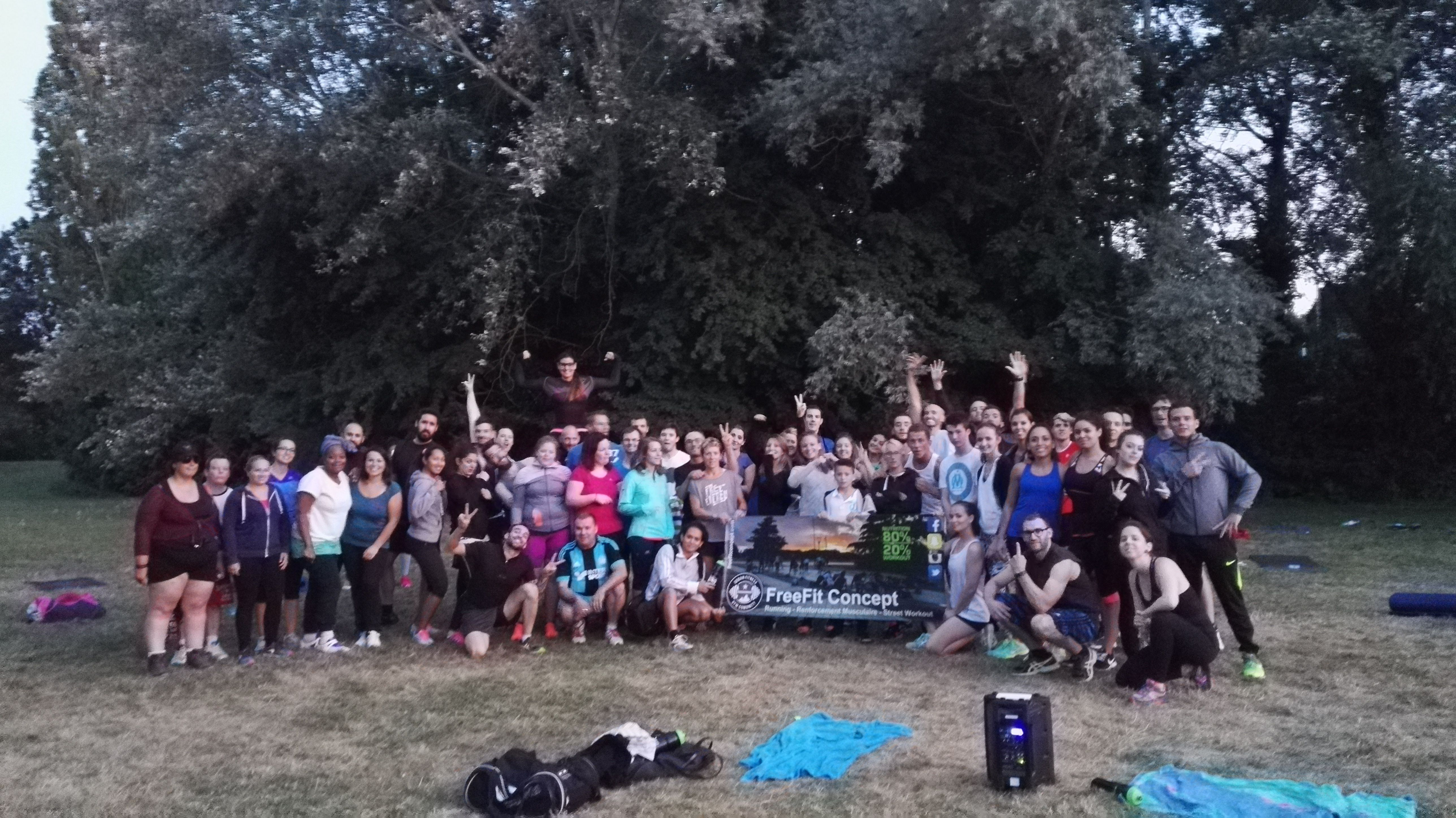 FreeFit Concept - Fit Challenge