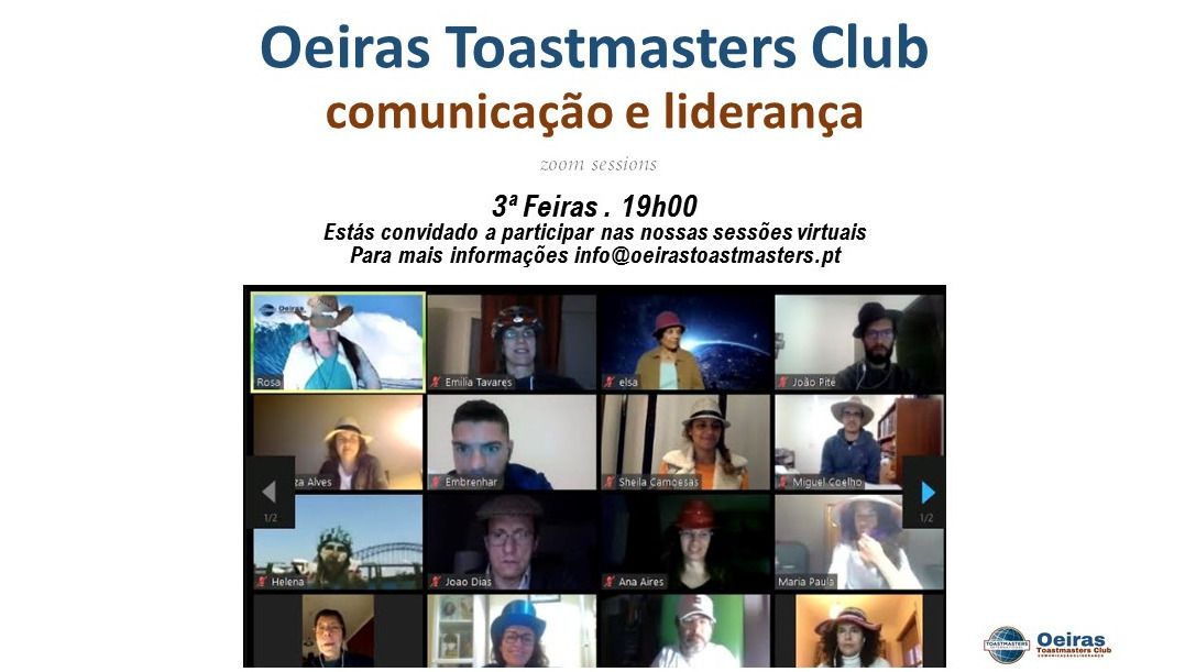 Sessão Public Speaking Oeiras
