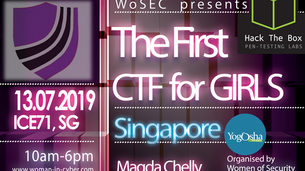 The First CTF For Girls in Singapore   Meetup