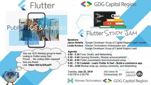 July monthly Flutter meetup - Join us! | Meetup