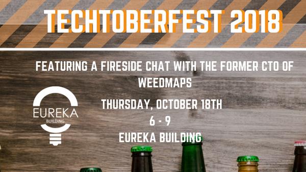 Eureka's 5th Annual #TechtoberfestOC ft  Bill Andreozzi (Former CTO