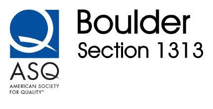 Boulder Quality Meetup