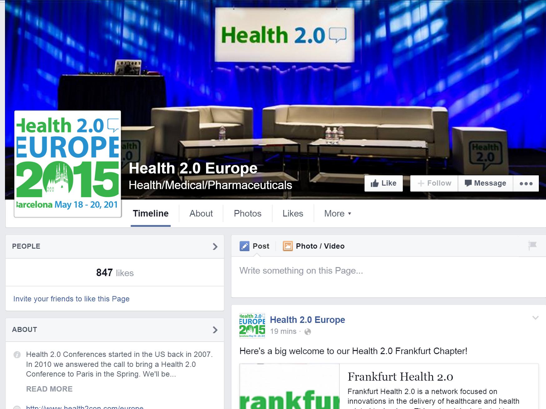 Health 2.0 Frankfurt