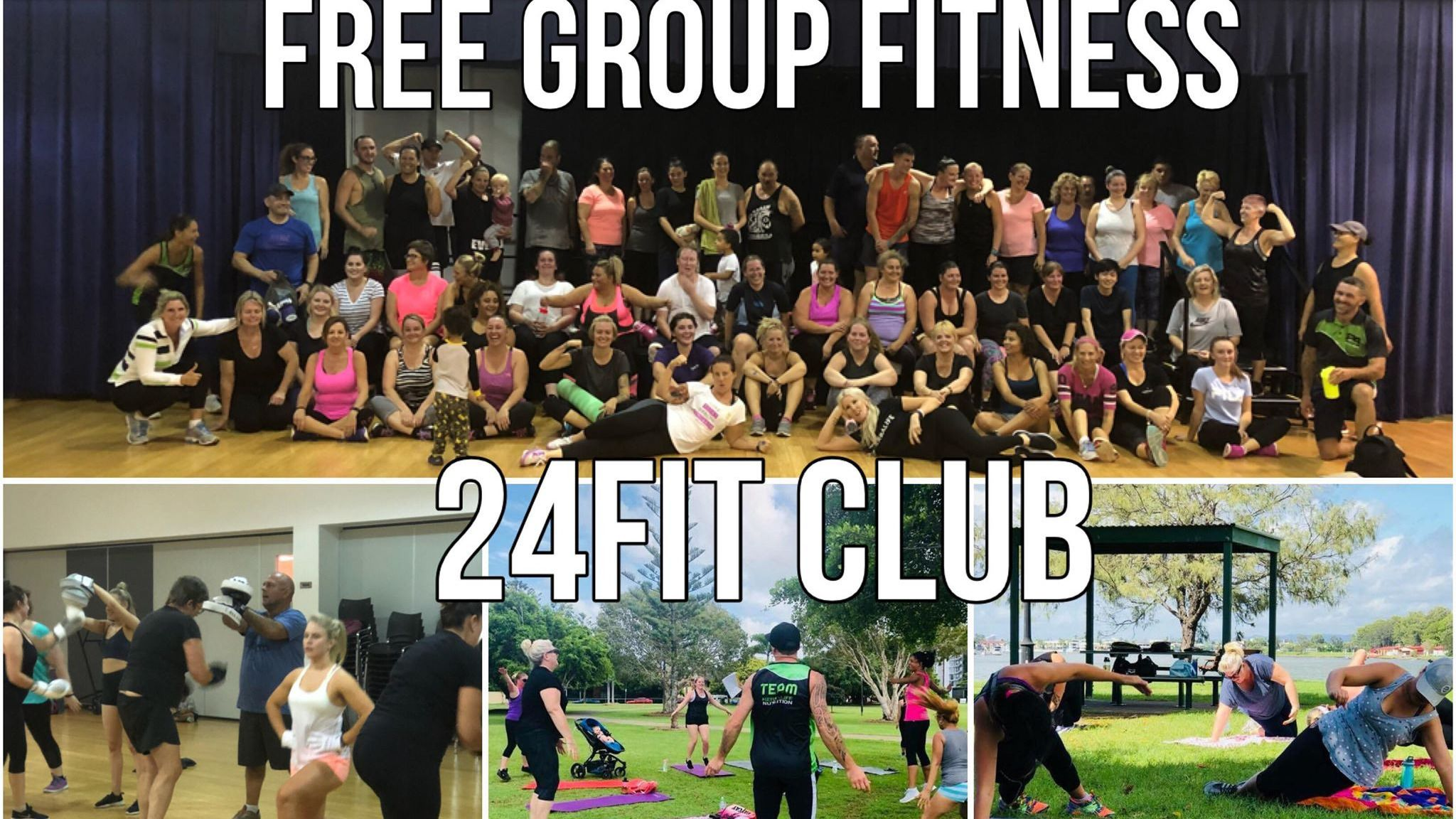 """Gold Coast FREE GROUP FITNESS!!SMS """"Fit"""" 0428 884 164"""