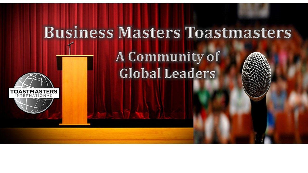 Business Masters Toastmasters   Community of Global Leaders   Meetup Vegas