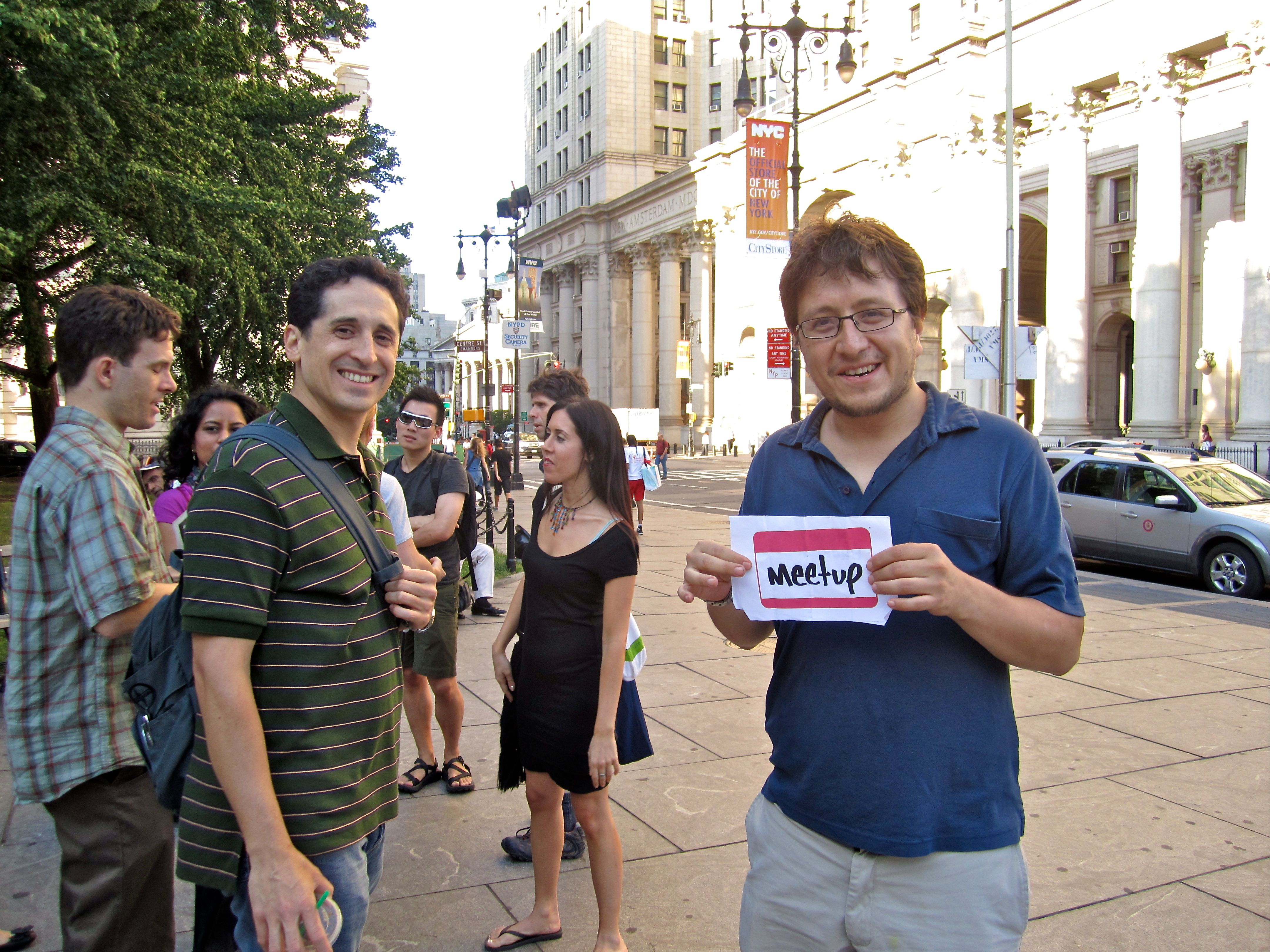 Meetup new york backpackers