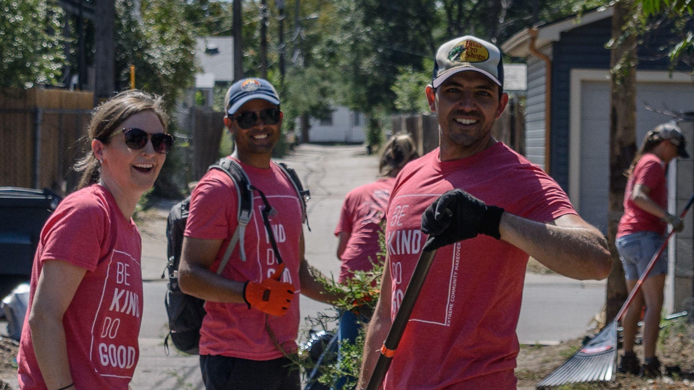 Denver Volunteering, Extreme Community Makeover