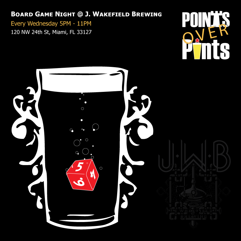 Poured Games - Board Games & Brews in South Florida