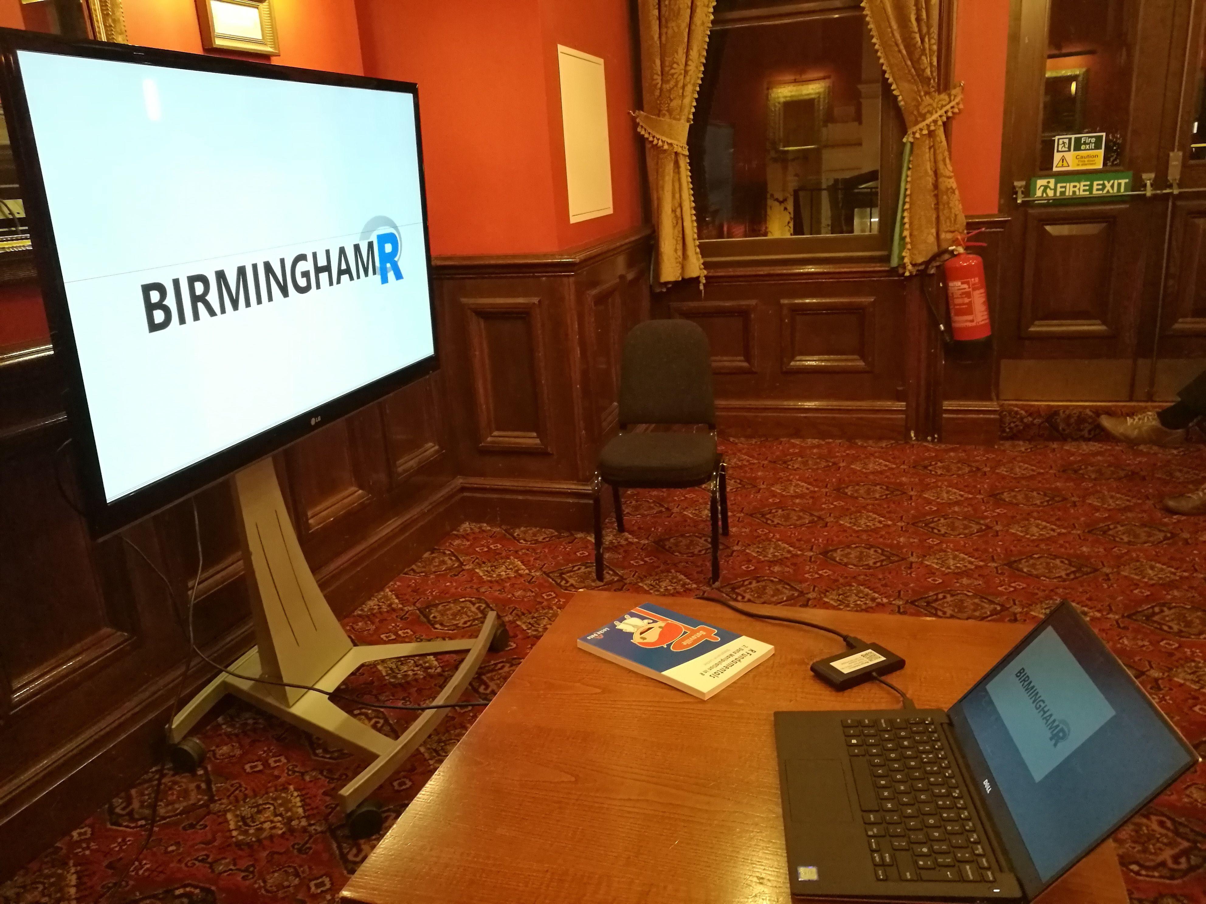 Birmingham R User Group (R Programming Language)