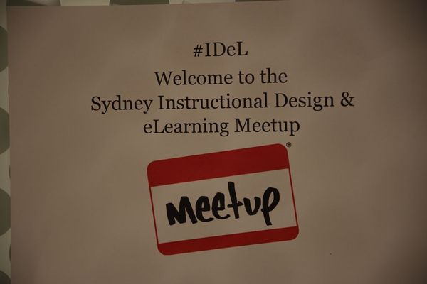 Instructional Design Elearning Meetup Sydney Australia Meetup