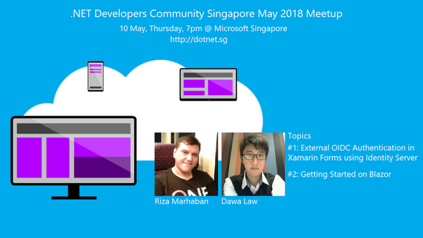 External OIDC, Identity Server, and UI Framework Blazor | Meetup