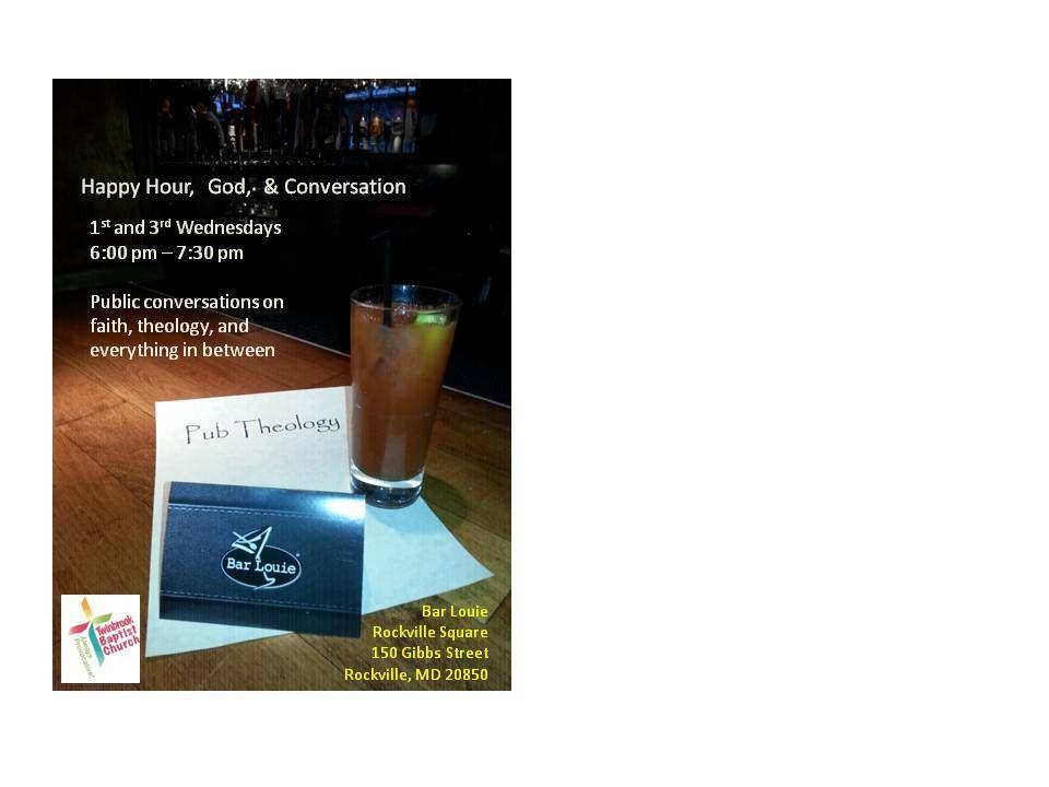 Pub Theology Rockville Meetup