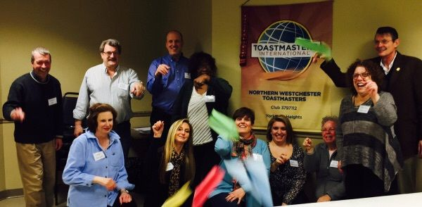 Toastmasters -Overcome your fears and improve