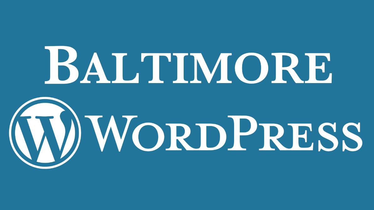 The Baltimore WordPress Group