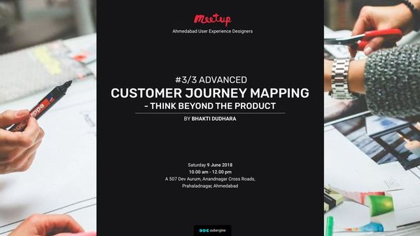 Meetup Series #3/3 - Advanced -CUSTOMER JOURNEY MAPPING-Think beyond the product