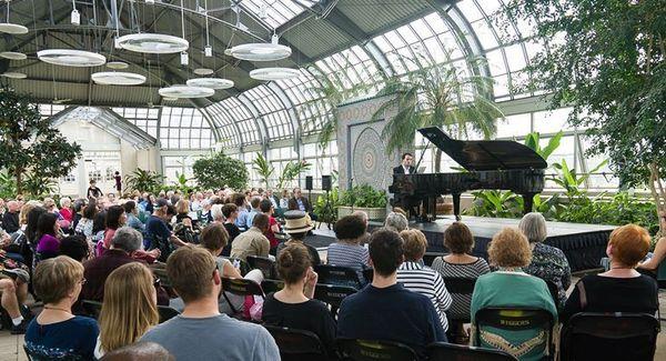 eeba2354d Garfield Park Conservatory ~ Music Under Glass (Chicago