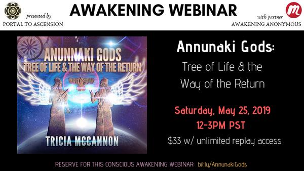 Online Event: ANUNNAKI GODS: Tree of Life & the Way of the