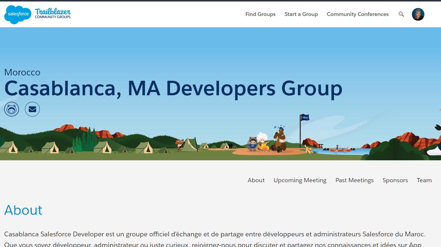 Casablanca Salesforce Developer Group