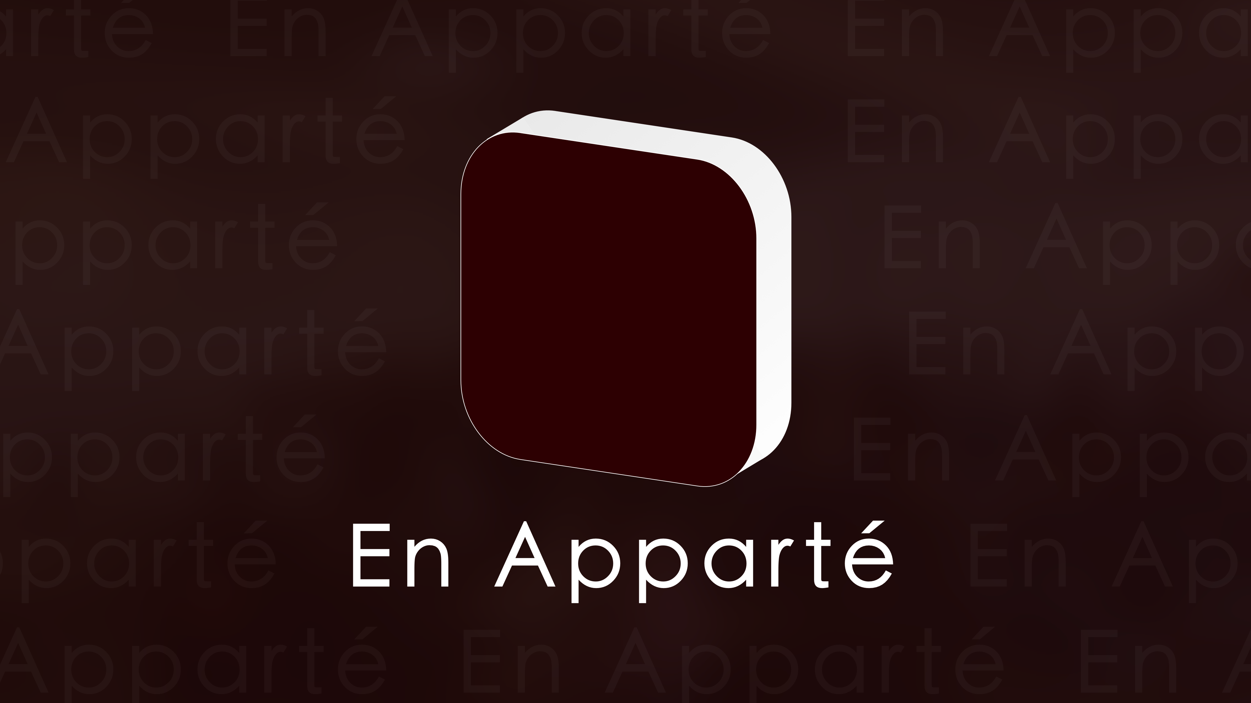 En Apparté iOS - Let Open(our: apps) !