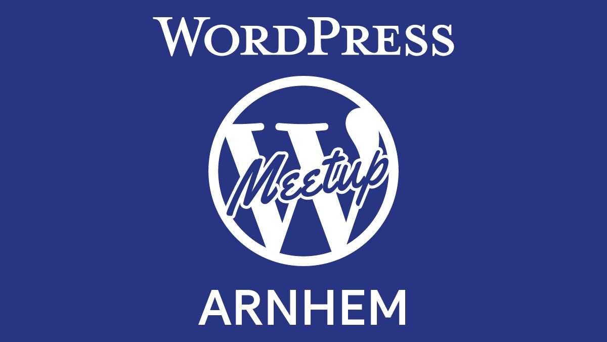 WordPress Meetup Arnhem