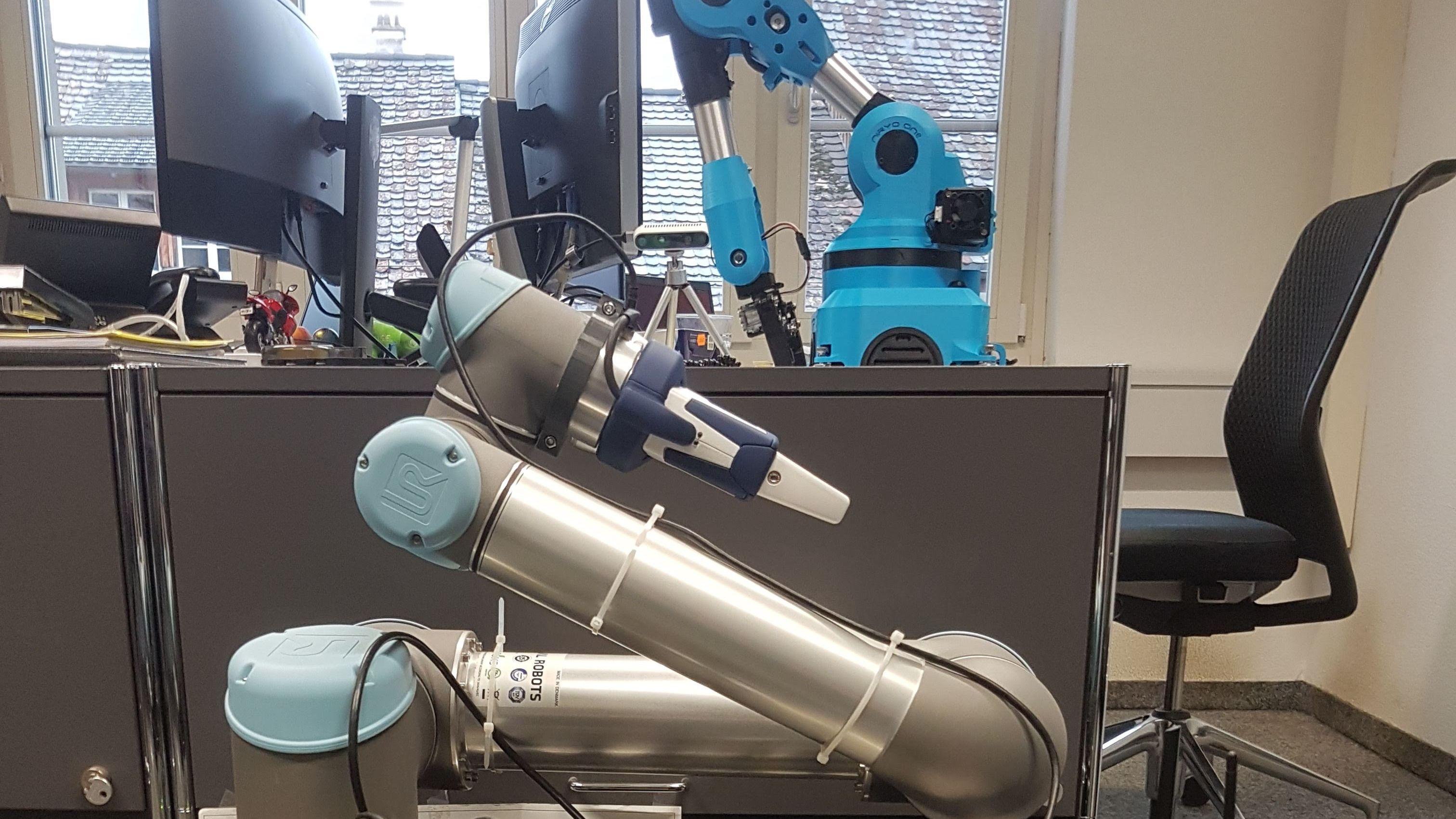 Robotics and ROS in Zurich