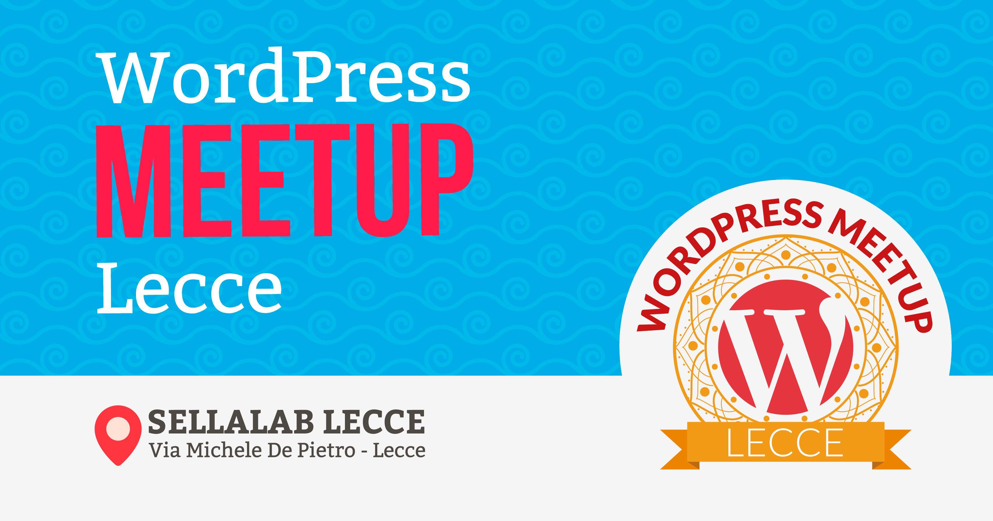 WordPress Meetup Lecce