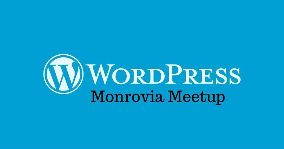 Monrovia WordPress Meetup