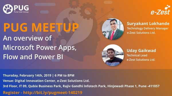 PUG Meetup: An overview of Microsoft Power Apps, Flow and