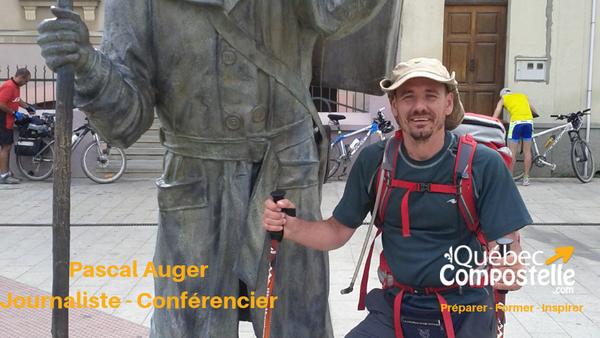 Conférence de Pascal Auger - Québec Compostelle