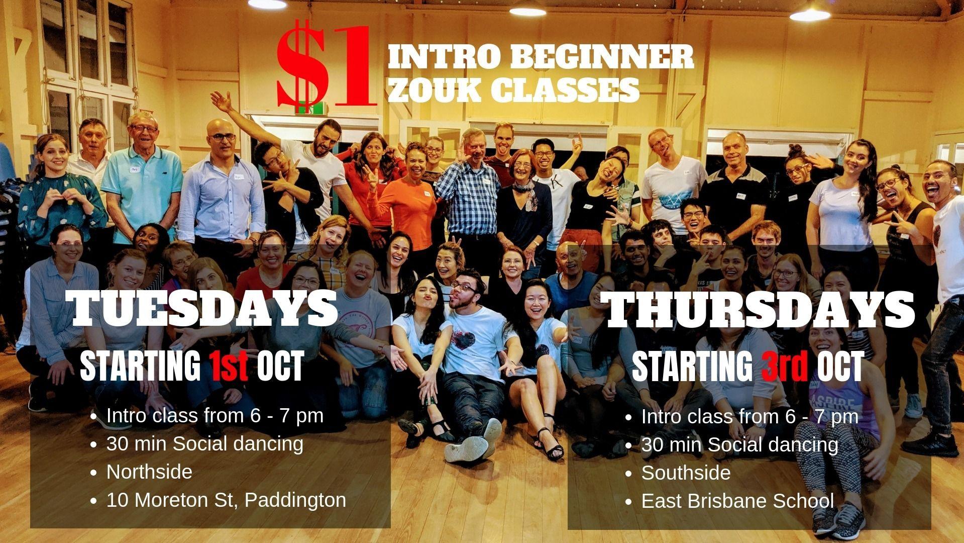 Brisbane Zouk Club, a Fun Latin Dance Style