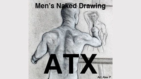 Men's Naked Drawing Austin