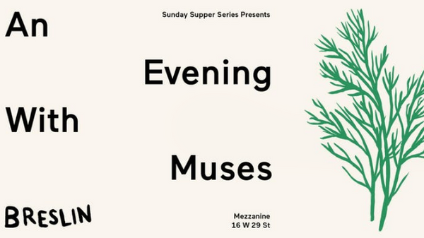 An Evening With    Muses (New York, NY) | Meetup