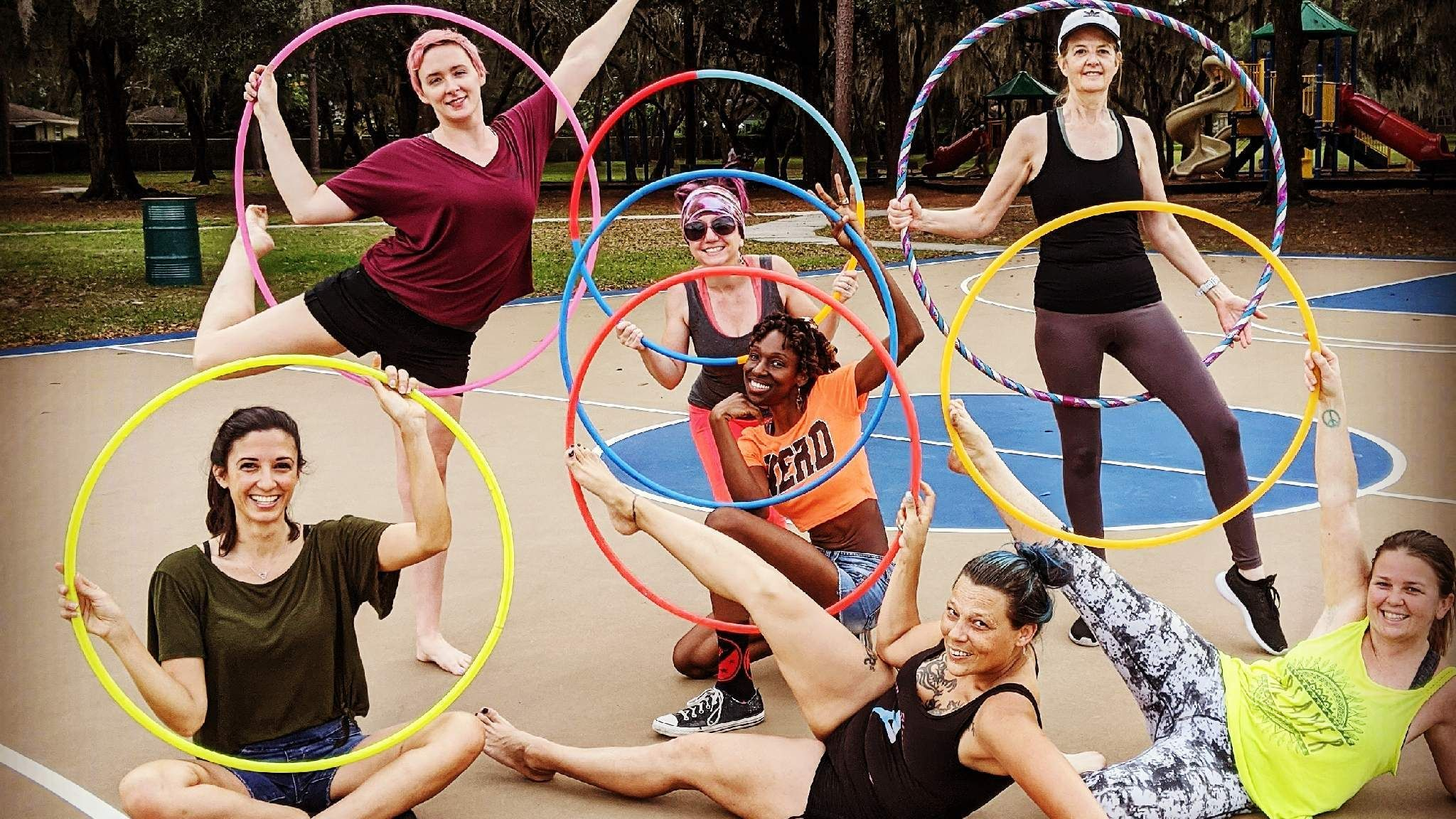 PENDING: Hoola-Fit Hoop Fitness/Dance every Saturday 9 a.m.