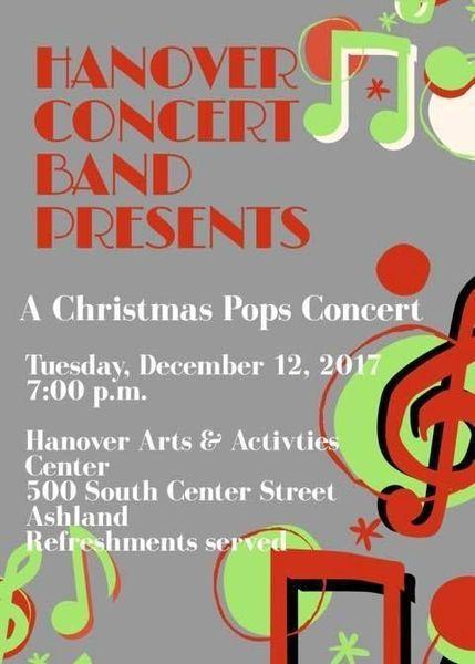Hanover Concert Band Christmas Pops Concert (dinner Before