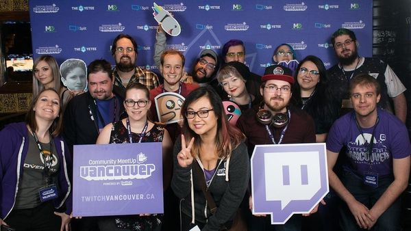 April 2017 Vancouver Community MeetUp, Powered by Twitch x