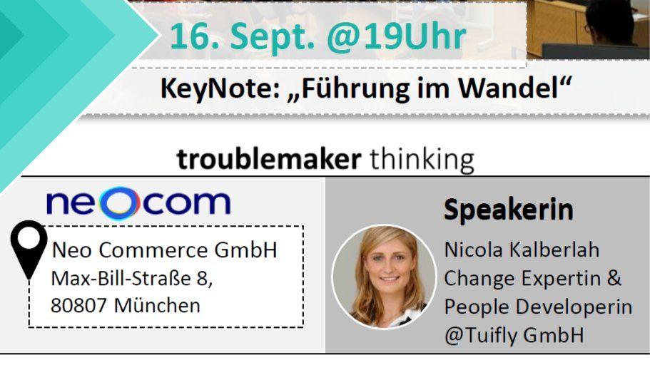 2tes Munich-Meetup: Führung im Wander mit Nicola Kalberlah