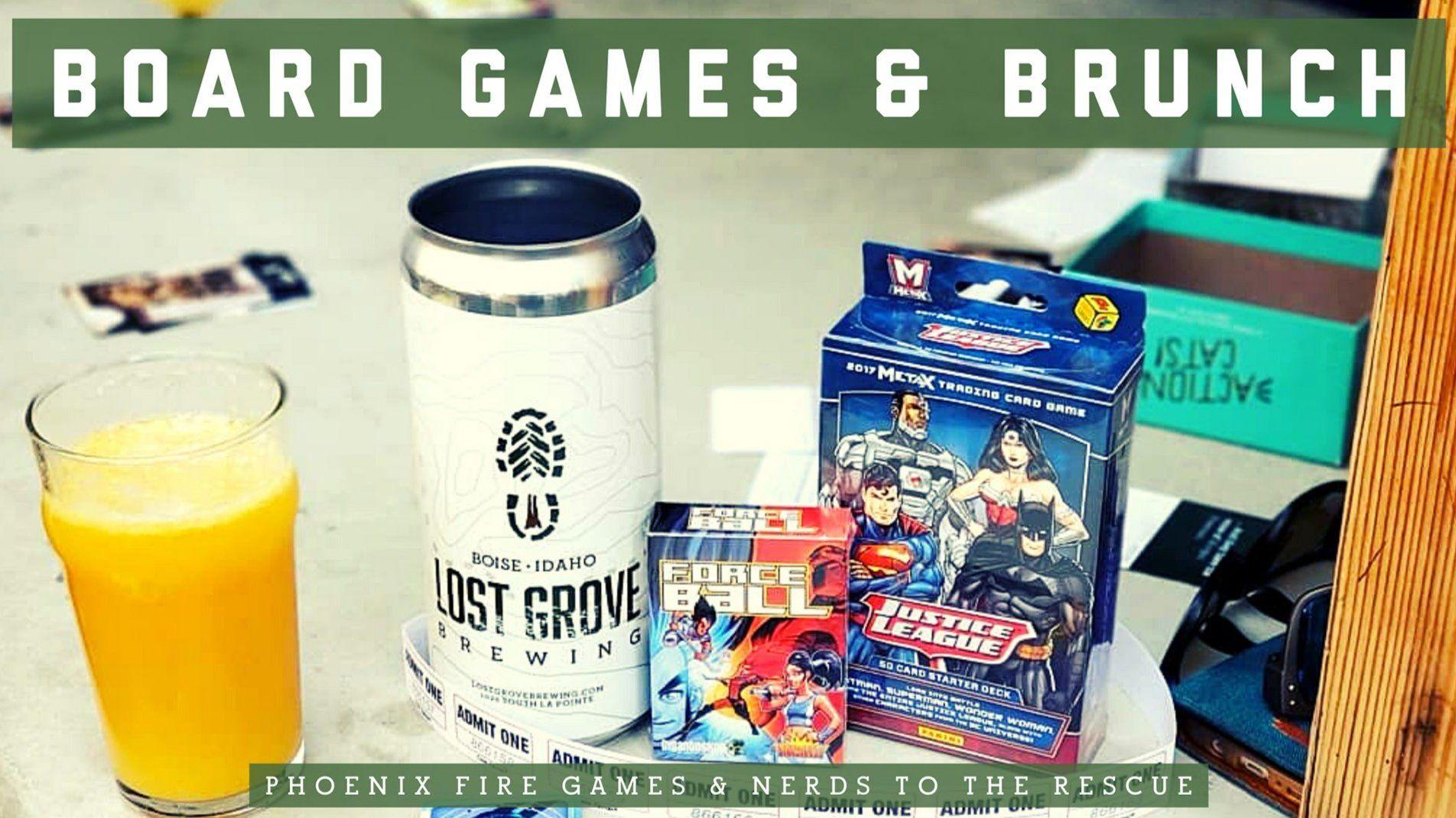 Board Games & Brunch is now biweekly(ish)!!