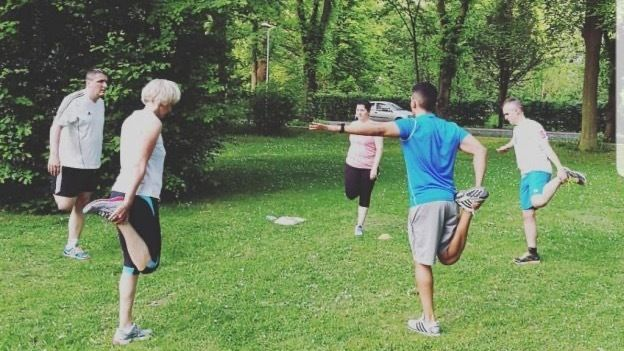 Let's workout together!
