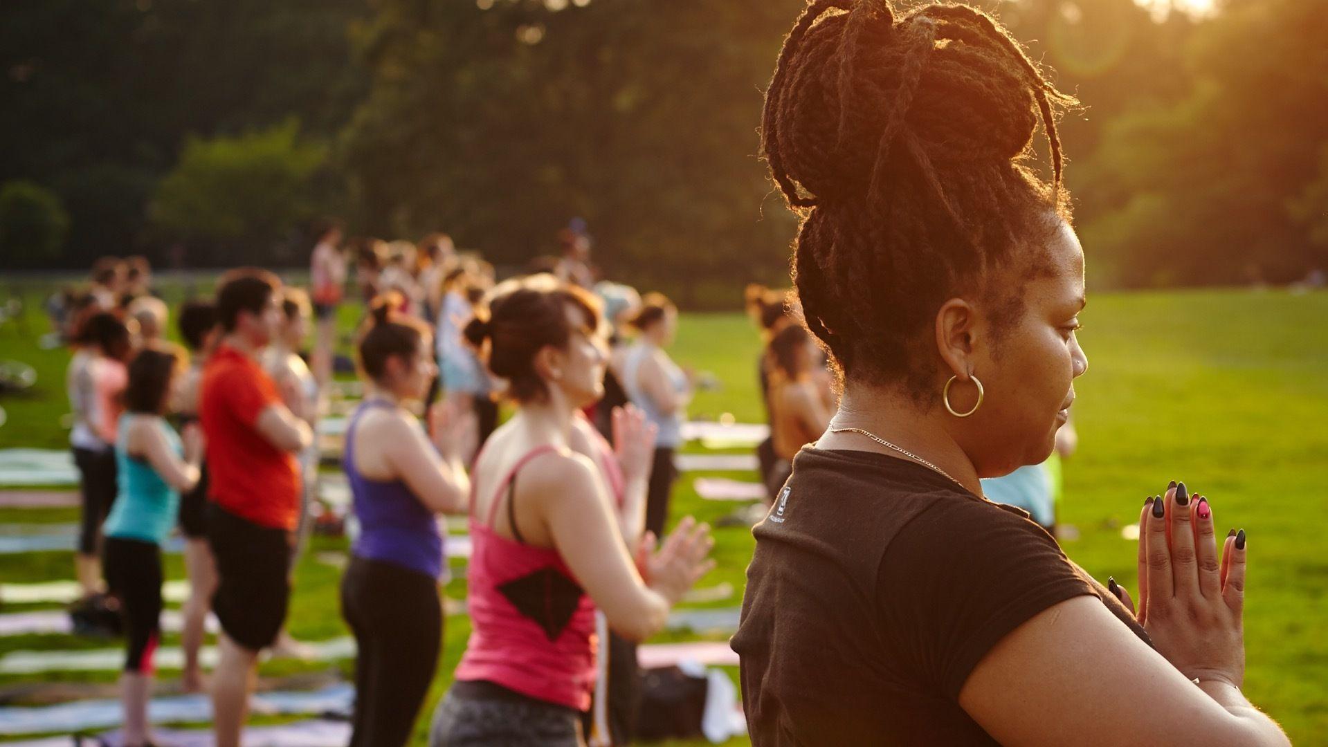 Free Yoga in Prospect Park