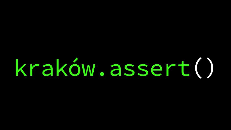 kraków.assert()